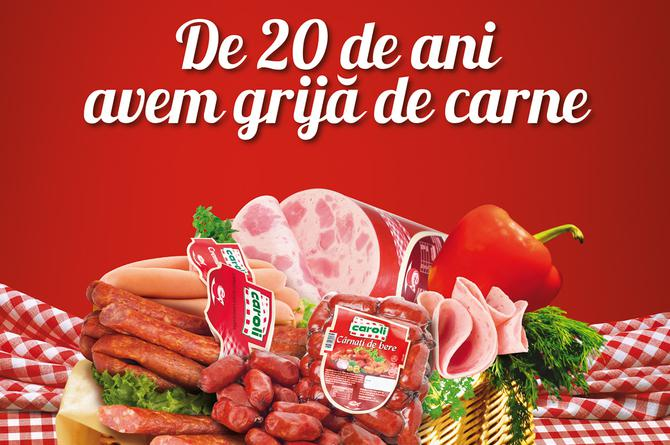 Caroli For 20 years we take care of meat