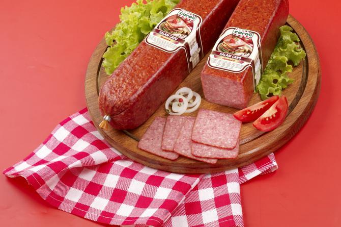 Caroli Foods lansează gama de salamuri semi-uscate Sandwich