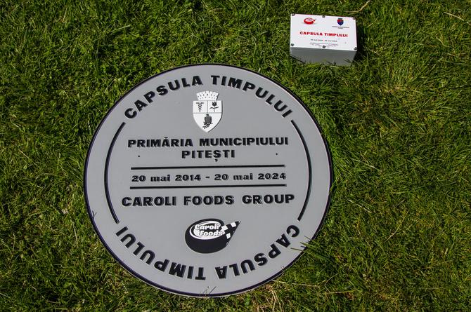 Caroli Foods Group launches Time Capsule in Pitesti