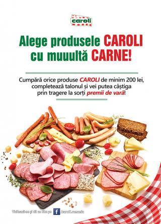 Campania publicitara - Vara asta Caroli te premiaza