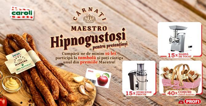 CAMPANIA PUBLICITARA - Hipnogustosi pentru pretentiosi!