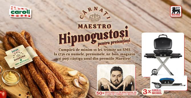 CAMPANIA PUBLICITARA  - Carnati Maestro, hipnogustosi pentru pretentiosi !