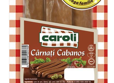 Caroli Kabanos Sausages, vaccumed 150g