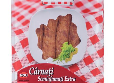 Caroli Slightly Smoked Sausages, casserole 500g