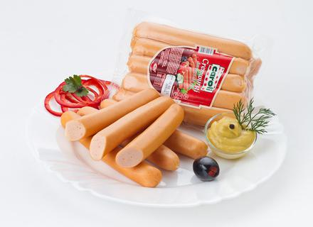 Caroli Chicken Breast Frankfurters, vacuumed 295g