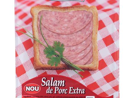 Caroli Pork Salami-Extra, sliced 100g