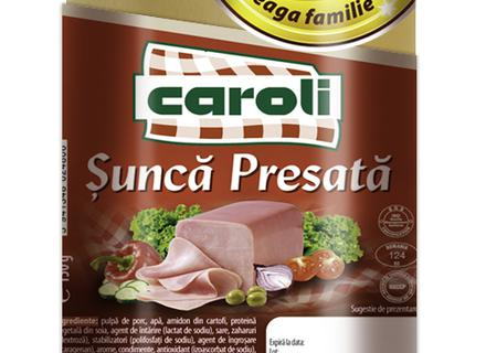 Caroli Pressed Ham, vacuumed 150g
