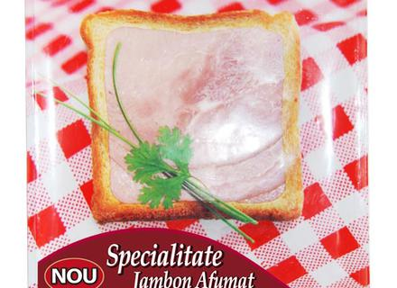 Caroli Smoked Jambon, sliced 100g